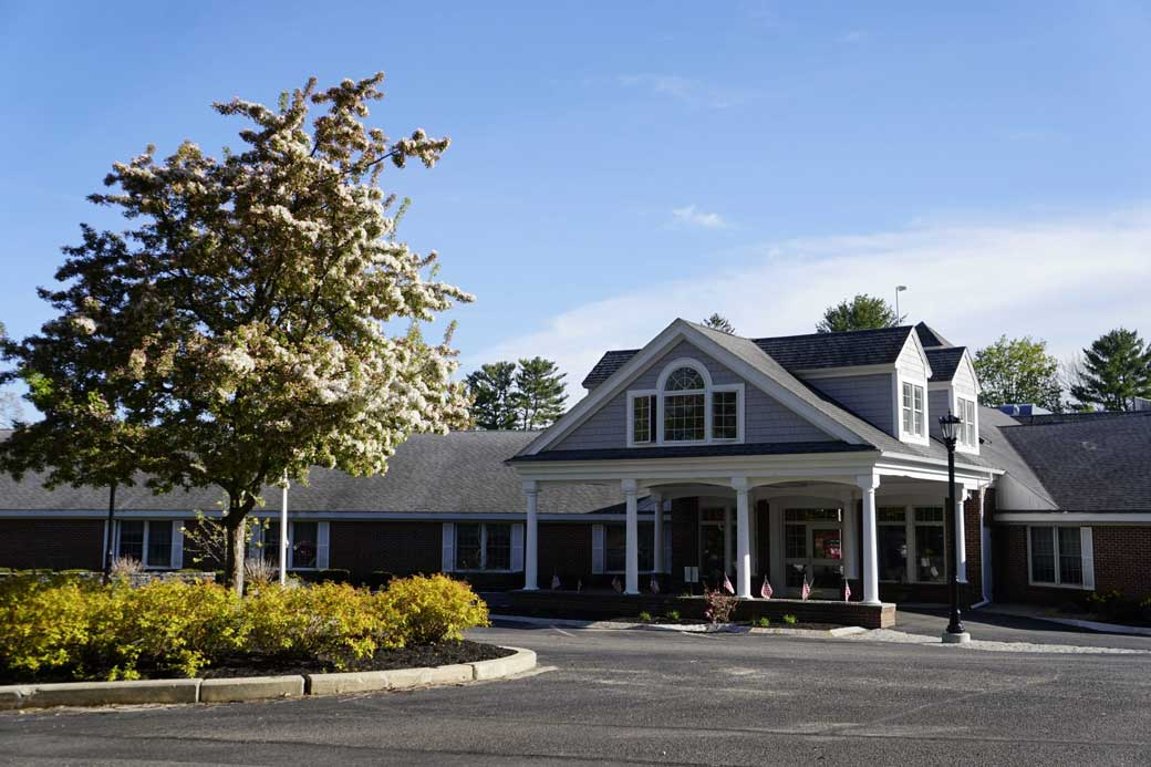 An exterior shot of Foreside Harbor.